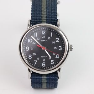 Timex Weekender casual face with 3 free bands